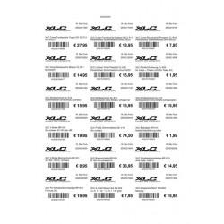 Etichette A4, 40x60mm 25 pagine