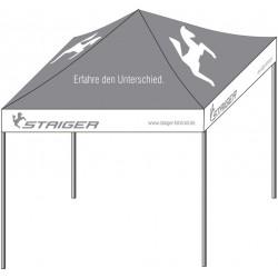 Tenda Staiger 3x3 m + borsa trasporto