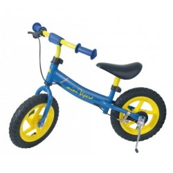 Bici bimbo 12' manico in alluminio blu