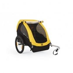 Rimorchio bici trasp bimbi Burley Bee