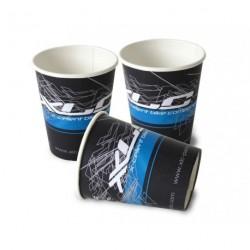 Bicchiere in crt XLC nero bianco blu