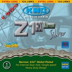 Catena KMC Z 1HX p.cambio di mozzo