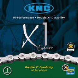 Catena KMC X1 p. cambio di mozzo